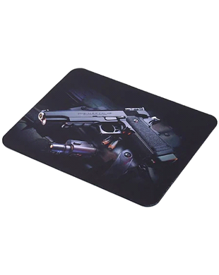 Gun Design Anti-Slip Mousepad