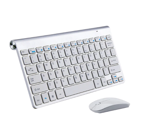 Keyboard Mouse Combo Set (White)