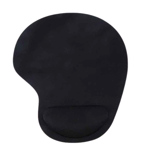 Rounded Mousepad with Wrist Support